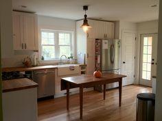 Our quaint, farmhouse kitchen :)