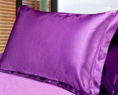 Silk Vs Satin Pillowcase Parker & Morgan Light Green Satin Queen Gusset Pillowcase $899