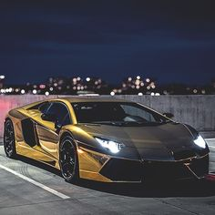 Lamborghini - Gold Sunday  Follow @luxxylife for luxure posts! Tag someone who would love this car! . . . . . .  #Car #carporn #cars #cargasm #carstagram #carselfie #carspotting #cargramm #cargram #carride #exotic #supercar #motor #supercars #motors #motorsport #motorsports #racing #speed #carlifestyle #auto #automotive #race #exoticcar #luxurycars #exoticcars #sportcars #sportscar #Luxury#lamborghiniaventador