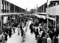 Opening Lijnbaan Rotterdam 1953