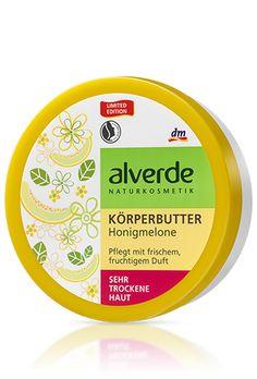 alverde Körperbutter Honigmelone - Honey-melon bodybutter. This smells beautiful!