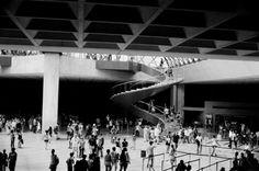 Louvre underground