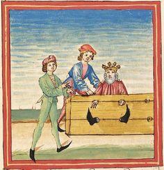 Pontus und Sidonia — Stuttgart (?) - Werkstatt Ludwig Henfflin,  um 1475  Cod. Pal. germ. 142  Folio 117v
