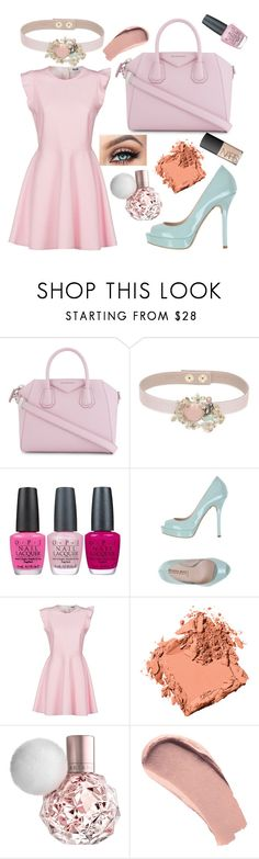 """Untitled #173"" by cobbles ❤ liked on Polyvore featuring Givenchy, RED Valentino, OPI, Eliana Bucci, MSGM, Bobbi Brown Cosmetics, Burberry and NARS Cosmetics"