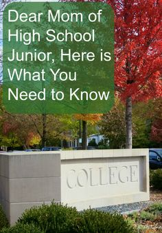 Junior year in high school is a voyage of discovery. These are the first steps on the way to college. Parenting Advice | College | Teens | Grown and Flown