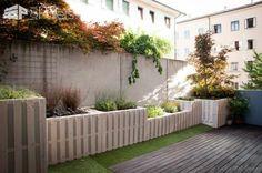 Más de 40 paletas ideas jardín para la primavera de 2017 Palets en el jardín