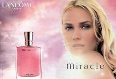 Mode Amplitude - Fashion & Culture: Perfume Miracle, de Lancome