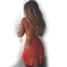 Купить товарБикини крючком 2016 женщин сексуальный красный ажурные сокрытия вязать спинки повод крючком купальник пляж платье в категории Пляжные накидкина AliExpress.           Этот большой запас, может быть непосредственно под!               Размер: бюст: 88 см