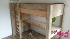 1000 images about kinderbedden childrens beds on pinterest van met and bureaus - Stapelbed met geintegreerd bureau ...