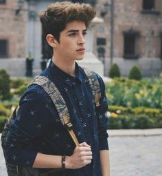 """[ fc: manu rios ] """"aye, i'm xander. i'm 17 years old and looking for my princess. sam & brinley are my siblings. Portrait Photography Men, Photography Poses For Men, Photography Music, People Photography, Manu Rios, Teen Boy Fashion, Cute White Boys, Foto Fashion, Men Photoshoot"""