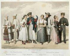 Costumes of Peasants from Romania, Hungary, Slovakia and Germany - Folk costume - Wikipedia, the free encyclopedia