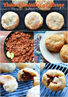 Cuban recipes that make easy back to school snacks: Cuban Pastelitos de Carne or Picadillo Stuffed Meat Pies. Ingredients available at Walmart.