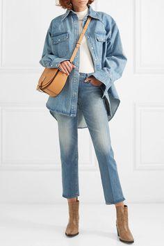 ba127b10a 8 mejores imágenes de boots jeans | Denim vests, Jean jacket vest y ...