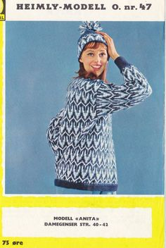 Anita 47 Norwegian Knitting, Threading, Scale Model