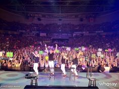 """James Maslow's, photo,""""#WooHooManchester Exciting show for sure!"""""""
