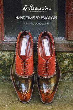Handcrafted emotion Men Dress, Dress Shoes, Oxford Shoes, Lace Up, Amazing, Fashion, Formal Shoes, Oxford Shoe, Moda