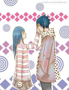 [Contigo estoy feliz]  - SasuHina by SASUHINA-123