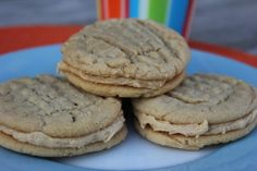 Homemade Nutter Butter Cookies--only better! These cookies are incredible. Everyone I shared them with said they are their new favorite cookie. These are a must try for everyone who loves peanut butter! By Deals to Meals.