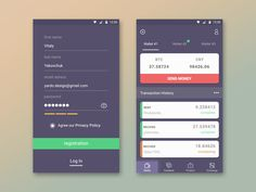 Hi friends! I happy to show you another concept for BTC Wallet app. Managing your bitcoins never was easier :) Bright, easy to use, unusual design solution, it's all about this app.