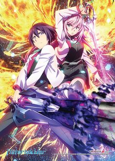 A new key visual for upcoming anime adaptation of Yuu Miyazaki and Okiura's Gakusen Toshi Asterisk light novel series has been revealed. The anime TV. Art Manga, Manga Anime, Anime Art, Animation, Upcoming Anime, Animes Online, Super Anime, Ayato, Animes Wallpapers