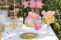 Treats @ a Princess Party #pink #princess #royal #treats https://www.facebook.com/BashCandyDessertBuffets