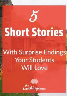 Want short pieces of literature that your English class will love to discuss? English short stories for high school English or ESL classes. 5 of my favourite stories are in this post! Analyze short story literature with the best short stories for English English Short Stories, Best Short Stories, English Lessons, Story In English, English Lesson Plans, Esl Lesson Plans, English Classroom, English Teachers, Teaching English