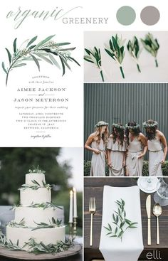 2017 Wedding Trend: Greenery and Foliage