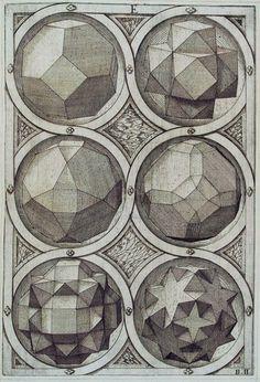 Six Octaeder by Jost Amman 1568
