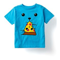Mokuyobi Threads Turquoise Pizza Tee (€8,86) ❤ liked on Polyvore featuring tops, t-shirts, graphic tees, graphic t shirts, graphic design t shirts, graphic print tees and crew-neck tee Graphic Prints, Graphic Tees, Graphic Design, Cute Food, Printed Tees, Mayo, Pizza, Crew Neck, Turquoise