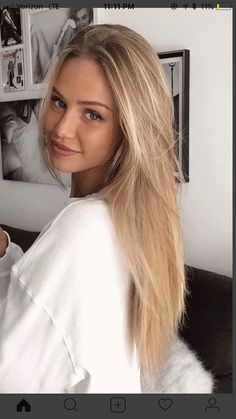 Nuances de blond : Rubia 137 Blonde Hair Color Ideas and Trends 2017 Image Description Rubia 137 Blonde Hair Looks, Brunette Hair, Ash Blonde, Highlighted Blonde Hair, Dyed Blonde Hair, Bleach Blonde, Natural Blonde Highlights, Honey Blonde Hair, Golden Bronde Hair