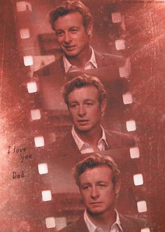 Such a sad moment. I just realized that this is only the second time Simon Baker has cried in the entire series.
