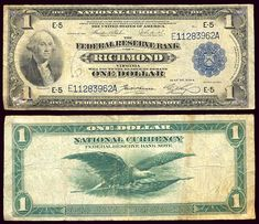 u.s. one dollar bill | error bills us foreign error us coins circulate uncirculated graded ...