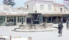 Heraklion, Crete, Old Pictures, Fountain, The Past, Street View, Mansions, House Styles, Antique Photos