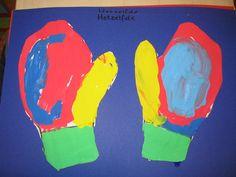 Handschoentjes hetzelfde verven
