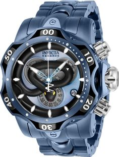 Sport Watches, Cool Watches, Unique Watches, Big Watches, Invicta Venom Watches, Burberry Men, Gucci Men, Mens Gear, Luxury Watches For Men
