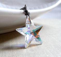 Hey, I found this really awesome Etsy listing at https://www.etsy.com/listing/170859262/star-necklace-swarovski-crystal