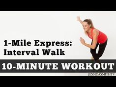 1 Mile Express Abs Walk - Low Impact Cardio Core Workout You Can Do At Home In a Small Space! - YouTube