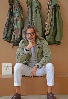 Green Camo & Fatigue Style Jackets, via Sharperman, Men's Spring Summer Fashion,