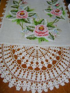 Pasta, Rugs, Home Decor, Basket Weave Crochet, Crochet Table Runner, Table Toppers, Needlepoint, Easy Paintings, Table Runners