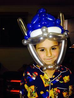 Transformer balloon hat