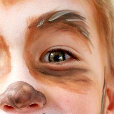 Werewolf Makeup for Kids