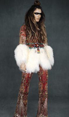 Hippie meets glam' :)