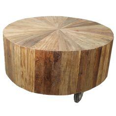 Beistelltisch Couchtisch SUN rund      Auswahl:  1 x Beistelltisch Couchtisch SUN rund     Material:  Massivholz  Korpus ist aus mehreren Massivholzstücken sternförmig zusammengesetzt     Farbe:  Natur braun     Eigenschaften:...