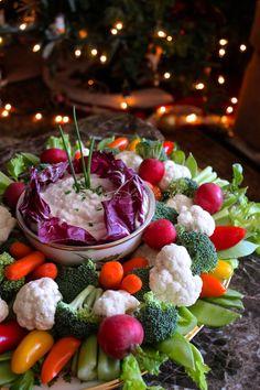 Creamy Veggie and Chip Dip - A Great Party Appetizer - La Bella Vita Cucina