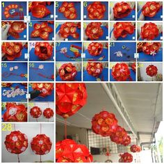 Chinese New Year DIY  lantern                                                                                                                                                                                 More