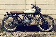 The Madrid-based motorcycle builder Cafe Racer Dreams is planning a short run of affordable customs based on the Honda CG125. Perfect for zipping around the avenidas of a busy Spanish town.