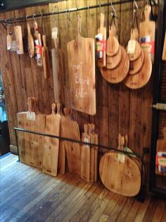 Wooden cutting boards Jamie Oliver ~ now a fashionable and creative way to serve up your creations.