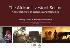 The African livestock sector: A research view of priorities and strategies, 26-29 Sep 2012