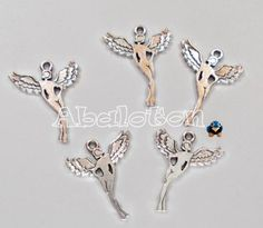 charms forma mujer con alas