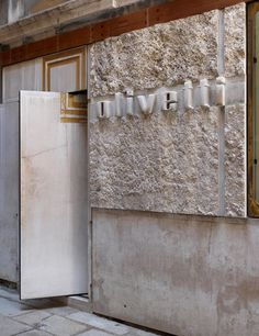 Maharam Stories, Carlo Scarpa: The Olivetti Showroom, by Mariah Nielson Carlo Scarpa, Facade Architecture, Contemporary Architecture, Shop Facade, Concrete Facade, Workspace Design, Famous Architects, John Pawson, Signage Design